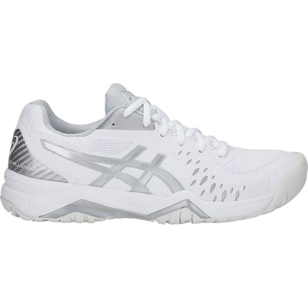 ASICS Gel-Challenger 12 Women's OUTDOOR Shoe (White/Silver) (1042A041.113)