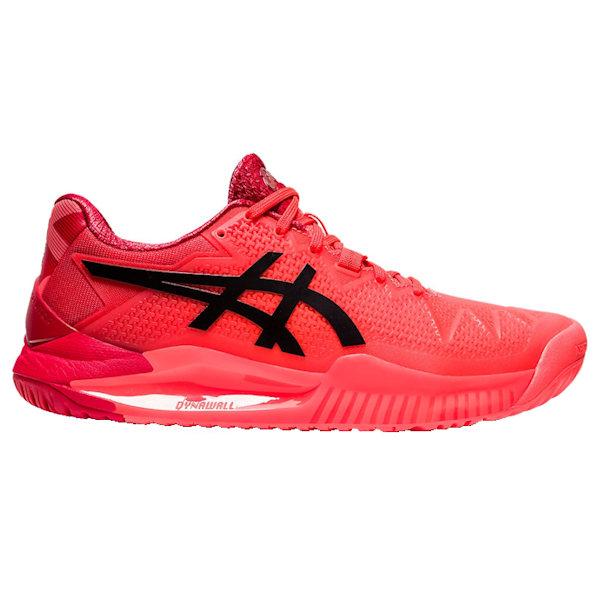 ASICS Gel-Resolution 8 L.E. Women's OUTDOOR Shoes (Sunrise Red/Eclipse Black) (1042A131.701)