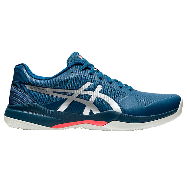 ASICS Gel-Game 7 Men's OUTDOOR Shoes (Mako Blue/Pure Silver) (1041A042.402)
