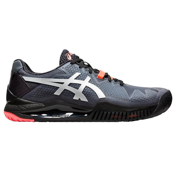 ASICS Gel-Resolution 8 L.E. Women's OUTDOOR Shoes (Black/Sunrise Red) (1042A122.010)