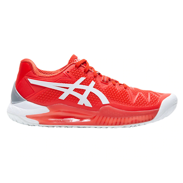 ASICS Gel-Resolution 8 Women's OUTDOOR Shoes (Fiery Red/White) (1042A072.601)