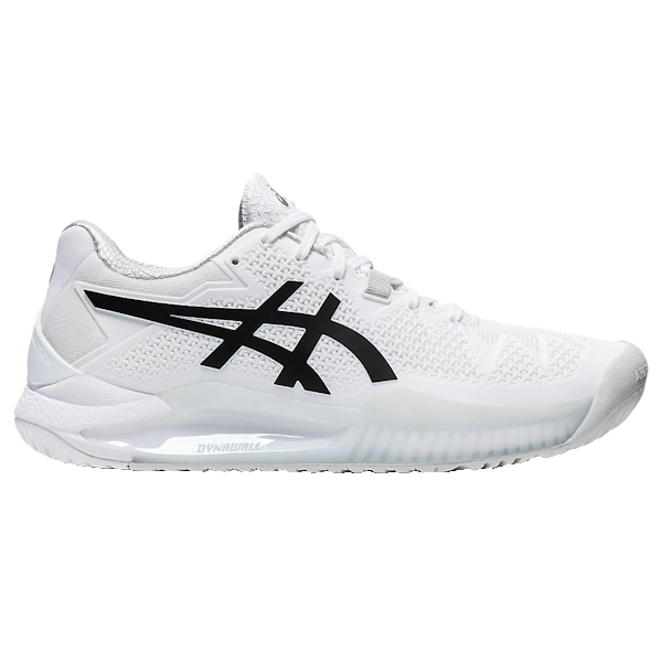ASICS Gel-Resolution 8 Women's OUTDOOR Shoes (White/Black) (1042A072.101)