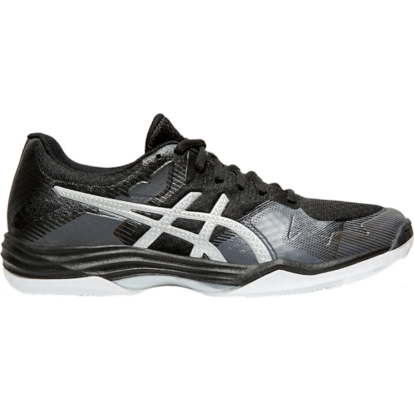 ASICS Women's Gel-Tactic Black/Silver Shoes (1072A035.001)