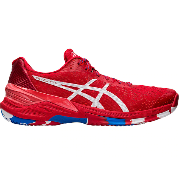 ASICS Sky Elite FF L.E. Men's INDOOR Shoes (Classic Red/White (1051A039.600)