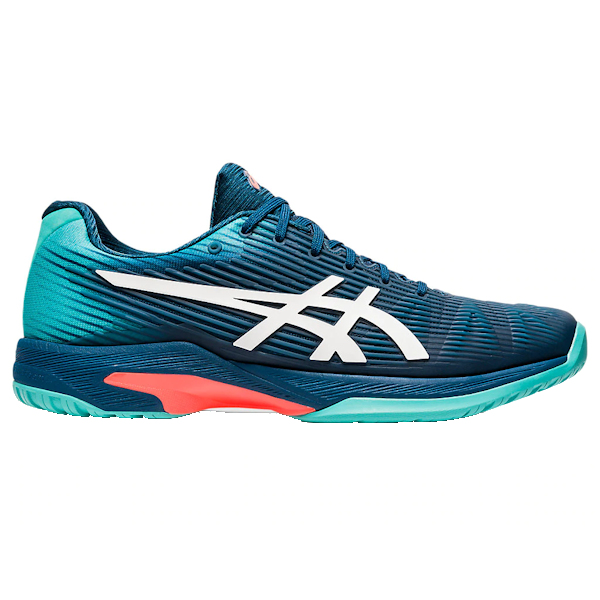 ASICS Solution Speed FF Men's OUTDOOR Shoe (Mako Blue/White) (1041A003.407)
