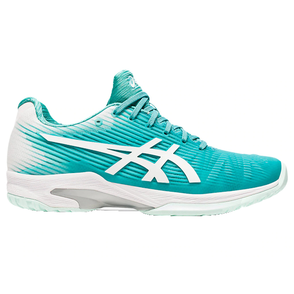 ASICS Solution Speed FF Women's OUTDOOR Shoe (Techno Cyan/White) (1042A002.300)