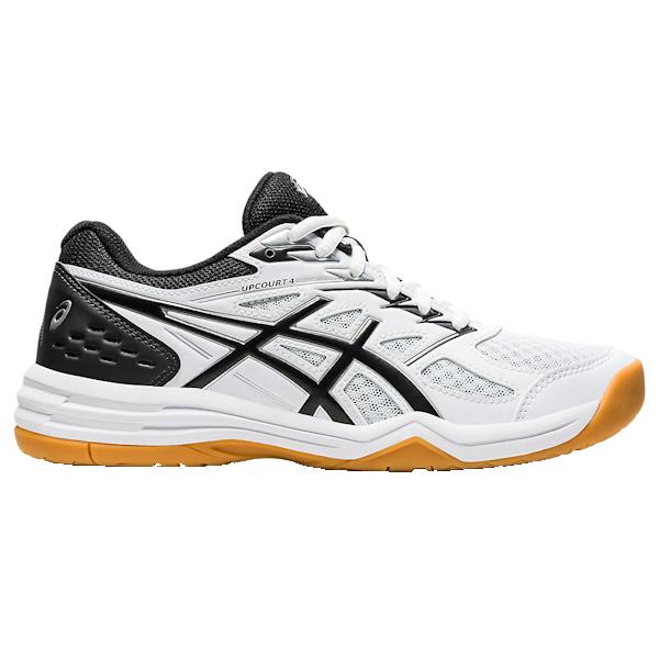 ASICS UpCourt 4 Women's INDOOR Shoe (White/Black) (1072A055.100)