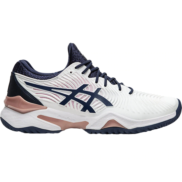 ASICS Women's Court FF OUTDOOR Shoes (White/Peacoat) (1042A076.102)
