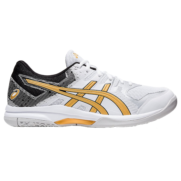 ASICS Gel-Rocket 9 Men's Indoor Shoes (1071A030.103) (White/Pure Gold)