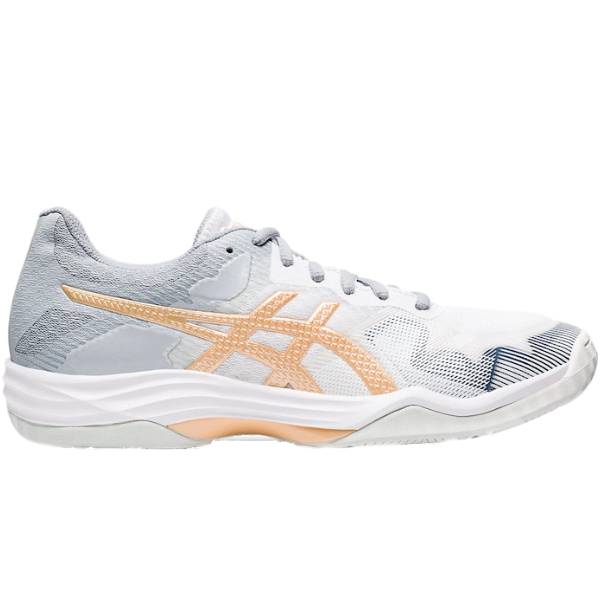 ASICS Women's Gel-Tactic White/Champagne Shoes (1072A035.102)