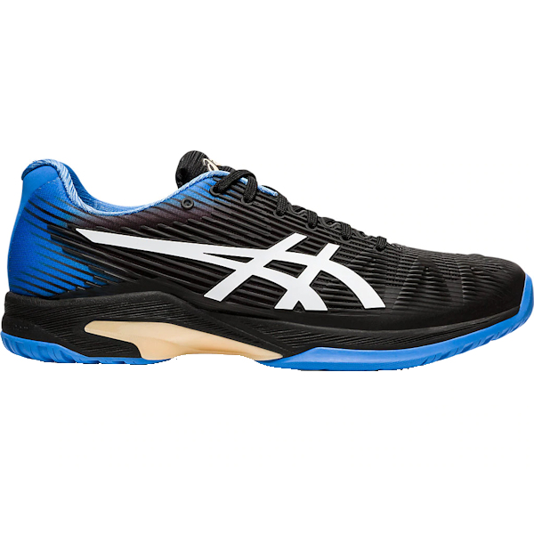 ASICS Solution Speed FF Men's OUTDOOR Shoe (Black/Blue Coast) (1041A003.012)