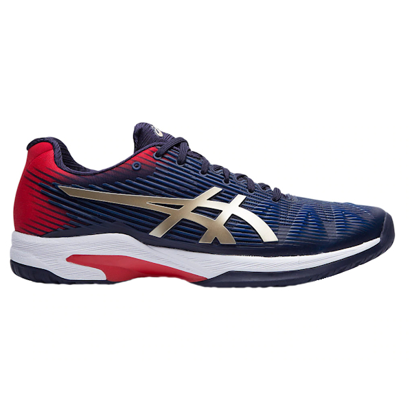 ASICS Solution Speed FF Men's OUTDOOR Shoe (Peacoat/Champagne) (1041A003.403)