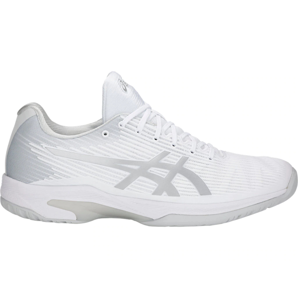 ASICS Solution Speed FF Men's OUTDOOR Shoe (White/Silver) (1041A003.100)