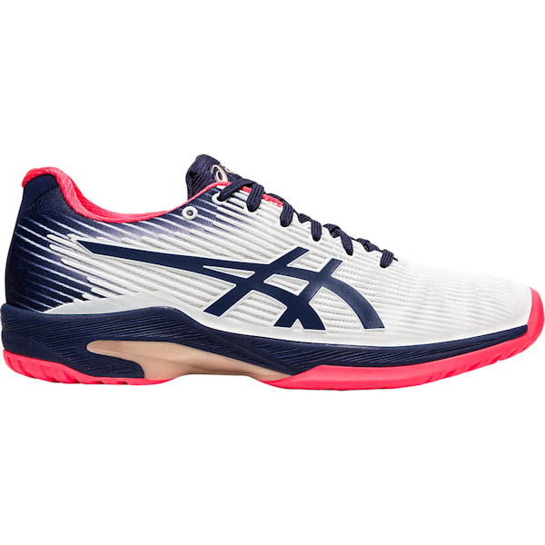ASICS Solution Speed FF Women's OUTDOOR Shoe (White/Peacoat) (1042A002.102)