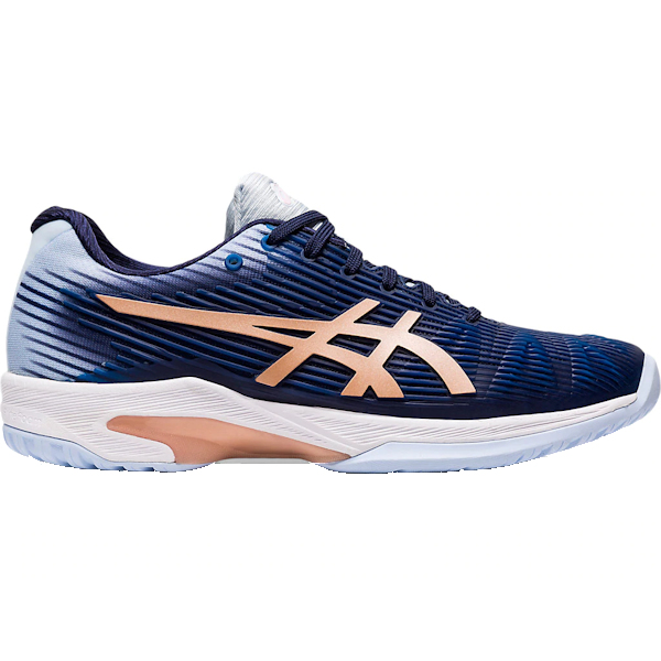 ASICS Solution Speed FF Women's OUTDOOR Shoe (Peacoat/Rose Gold) (1042A002.413)