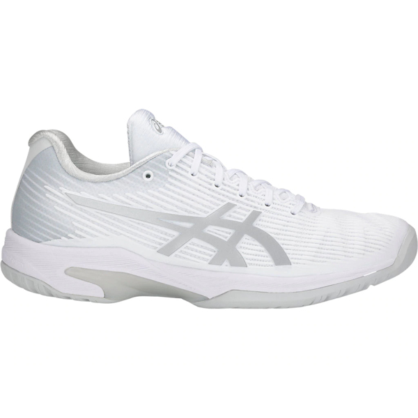 ASICS Solution Speed FF Women's OUTDOOR Shoe (White/Silver) (1042A002.100)