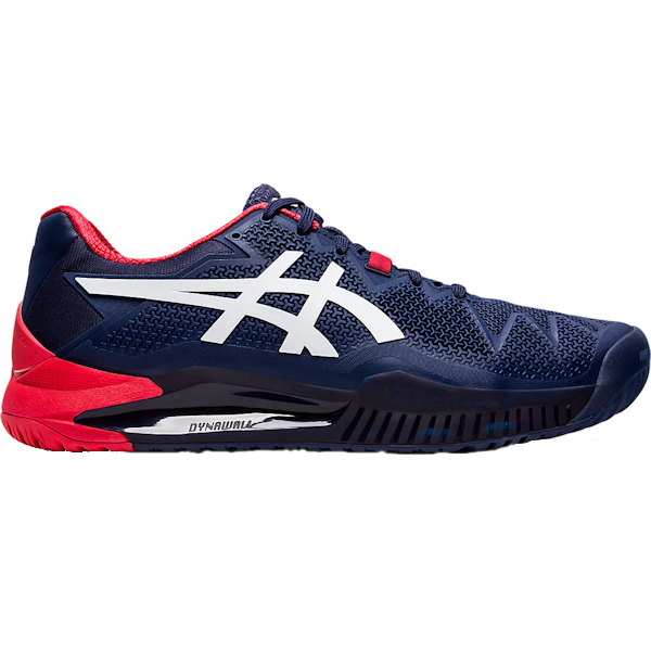 ASICS Gel-Resolution 8 Men's OUTDOOR Shoe (Peacoat/White) (1041A079.400)