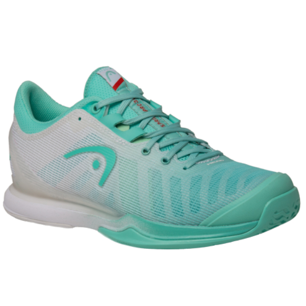 Head Sprint Pro 3.0 WOMENS Teal/White Outdoor Shoes (274040)