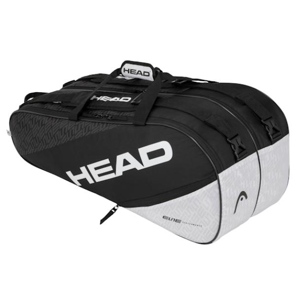 Head 2020 Elite 6R Pro (Black/White) (283550BKWH)