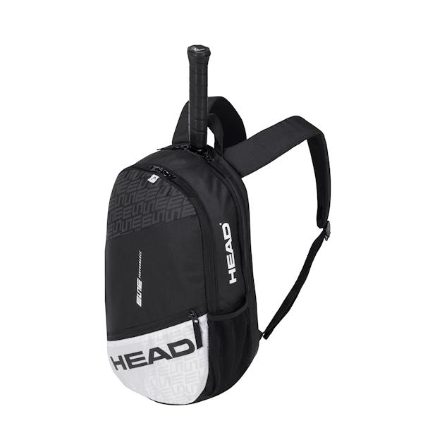 Head 2020 Elite BackPack (Black/White) (283570BKWH)