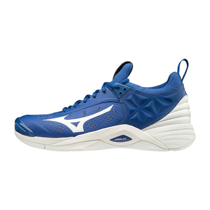 Mizuno Wave Momentum Men's Indoor Shoe (True Blue/White) (430261.TB00)