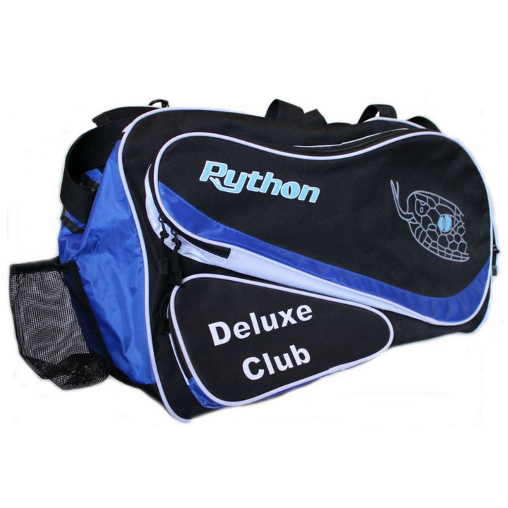 Python Deluxe Black/Blue Club Bag
