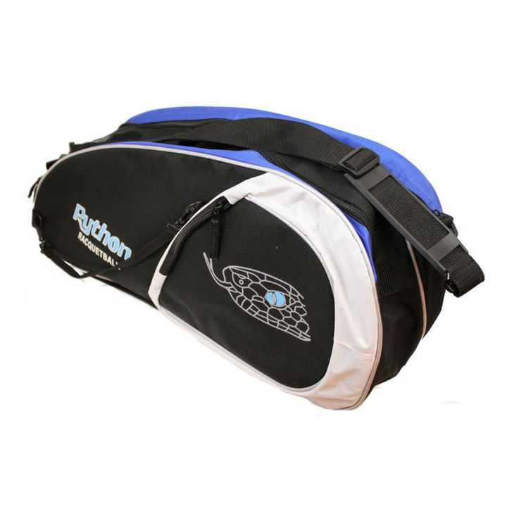 Python Deluxe Black/Blue 3 Paddle Bag