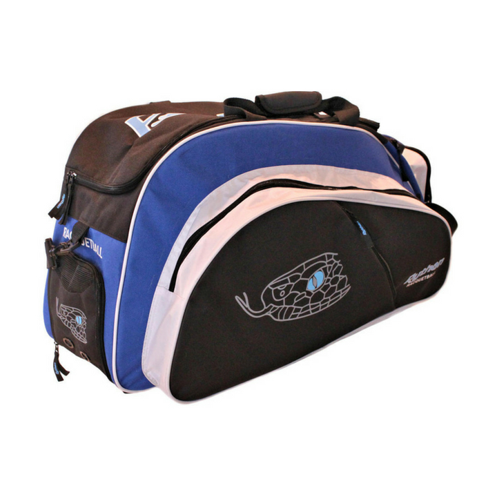 Python Deluxe Black/Blue Tournament Bag
