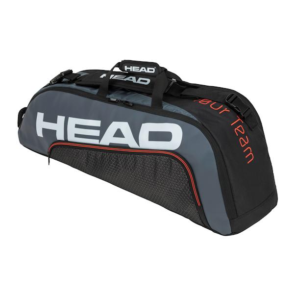 Head 2020 Tour Team 6R Combi (Black/Grey) (283150BKGR)
