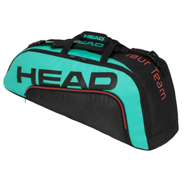 Head 2020 Tour Team 6R Combi (Black/Teal) (283150BKTE)