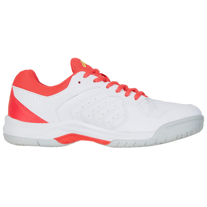ASICS Gel-Dedicate 6 Women's OUTDOOR Shoe (White/Laser Pink) (1042A067.102)