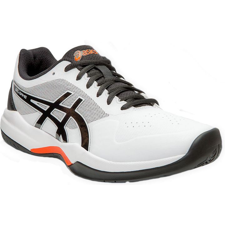 ASICS Gel-Game 7 Men's OUTDOOR Shoes (White/Black) (1041A042.105)