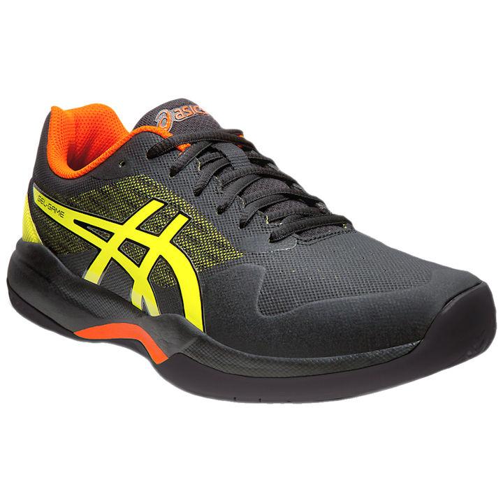 ASICS Gel-Game 7 Men's OUTDOOR Shoe (Black/Sour Yuzu) (1041A042.011)