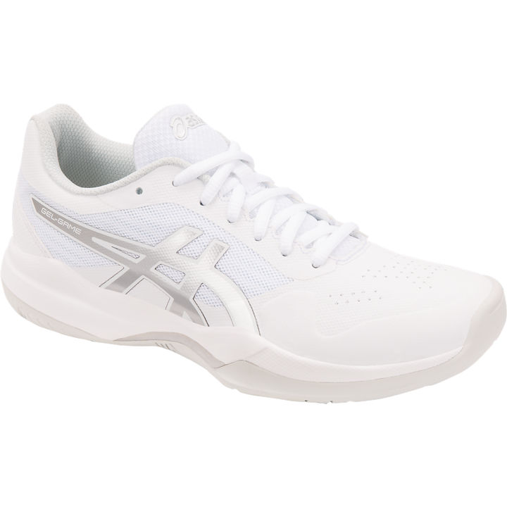 ASICS Gel-Game 7 Women's OUTDOOR Shoes (White/Silver) (1042A036.104)
