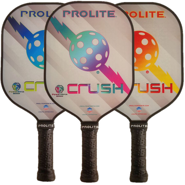 Pro-Lite Crush Powerspin Pickleball Paddle