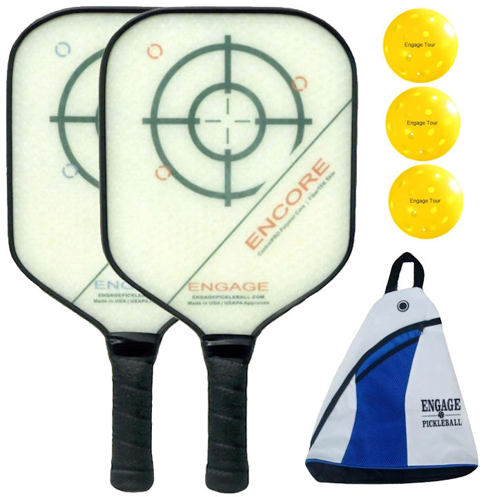 Engage Encore Composite Pickleball Paddle Bundle