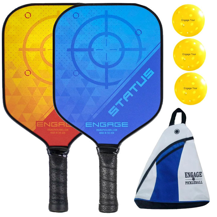 Engage Status Pickleball Paddle Bundle