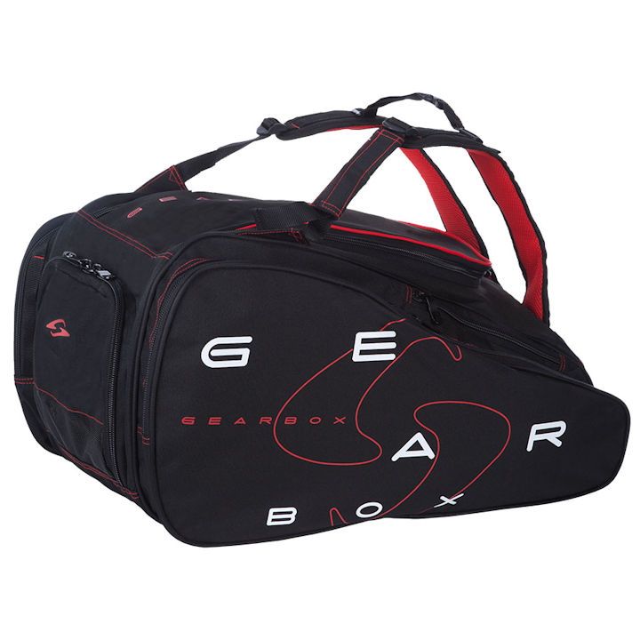 GearBox 2018 Black/Red Ally Bag