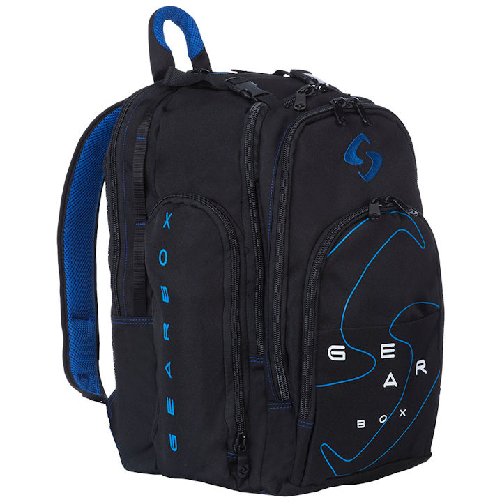 2018 Blue Backpack · GearBox 2018 Black Blue Backpack Bag fe92ac56fc17d