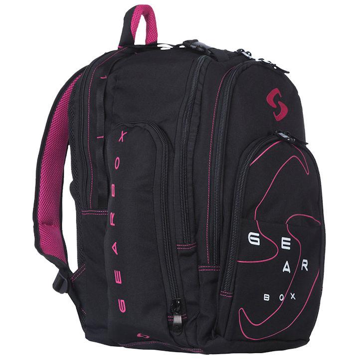 GearBox 2018 Black/Pink Backpack Bag
