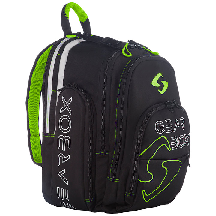 GearBox Black/Green Backpack Bag