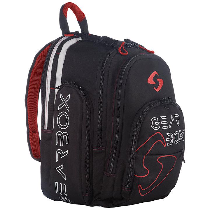 GearBox 2019 Black/Red Backpack Bag