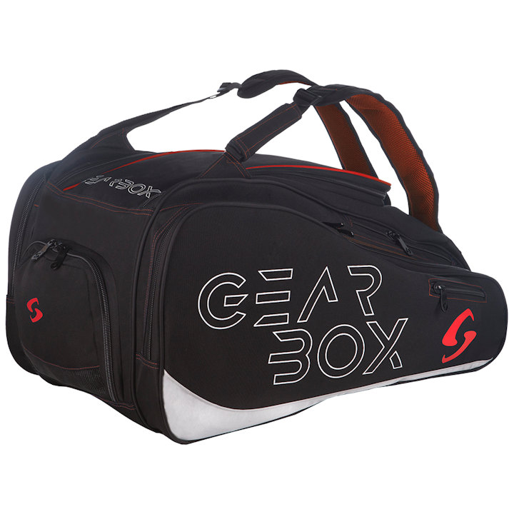 GearBox Black/Red Club Bag