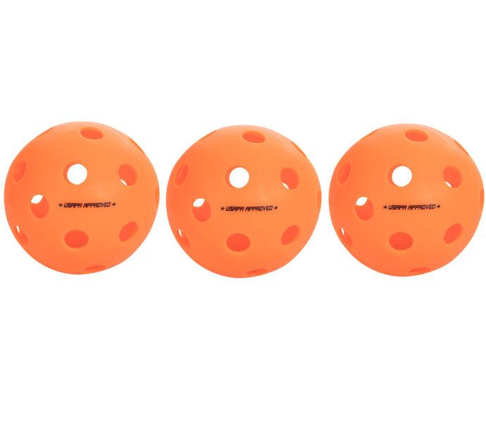 onix pickleball indoor orange fuse balls pack paddleballgalaxy pickleballs