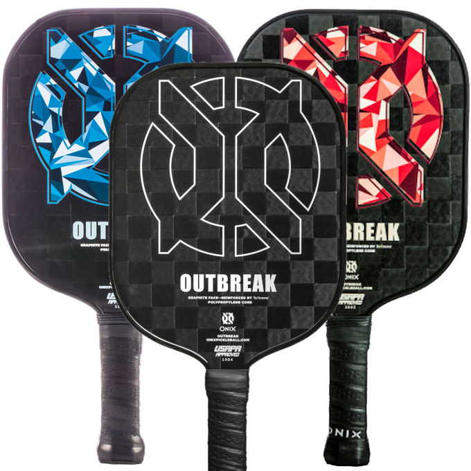 Onix Outbreak Graphite Pickleball Paddle