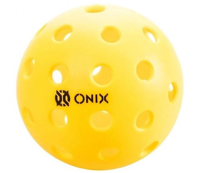 Onix Pure 2 Outdoor Yellow Pickleball Pickleball Galaxy