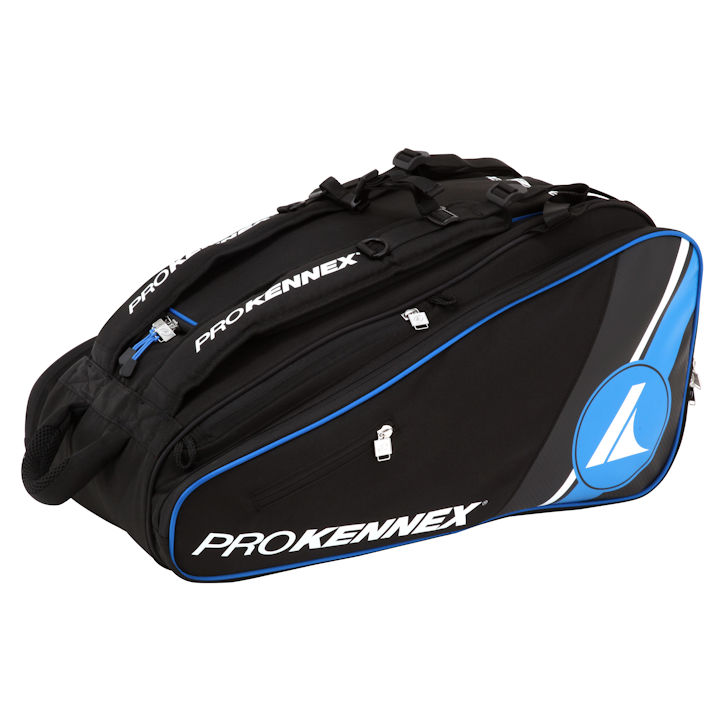 Pro Kennex Kinetic Tour Black/Blue Racquetball Bag (RB0770)