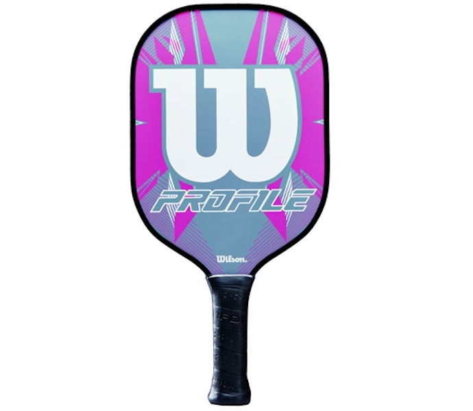 Wilson Profile Grey/Pink Pickleball Paddle
