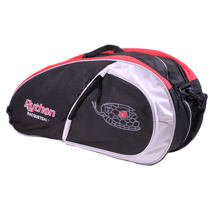 Python Deluxe Black/Red 3 Paddle Bag