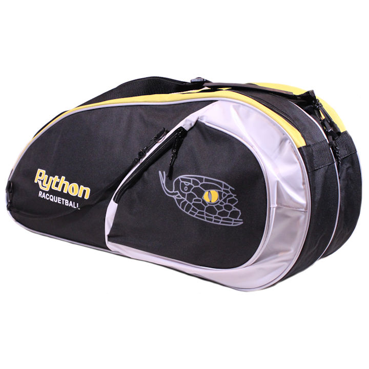 Python Deluxe Black/Yellow 3 Paddle Bag